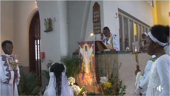 4ème de Pâques dite par Monsieur l'Abbé Julien Matondo, Aumônier Le 12.05.2019 (Les Lectures & L'Homélie)